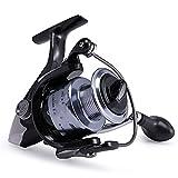 WBJLG Carretes de Pesca Carrete Giratorio de Agua Dulce Serie 1000-7000 Carrete de Pesca de Carpa de Agua Dulce de Agua Salada para Pesca de Invierno...