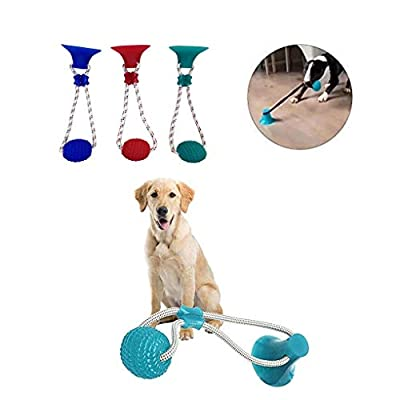 Aimik Dog Ropes Toy with Suction Cup,Pet Molar ...