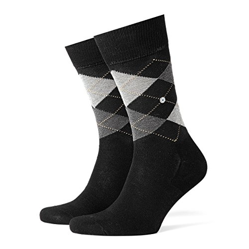 Burlington Manchester Herren Socken black (3000) 46-50 One size fits all (Gr. 40-46)