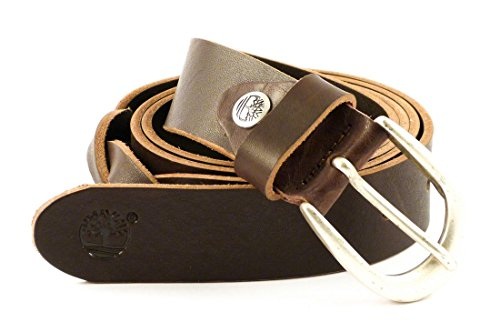Timberland Cintura donna in pelle M4372 (marrone)