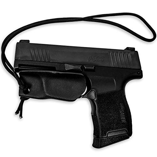 Kydex Holster for Sig P365 Trigger Guard Pistol Lanyard Rip-Away Pocket IWB