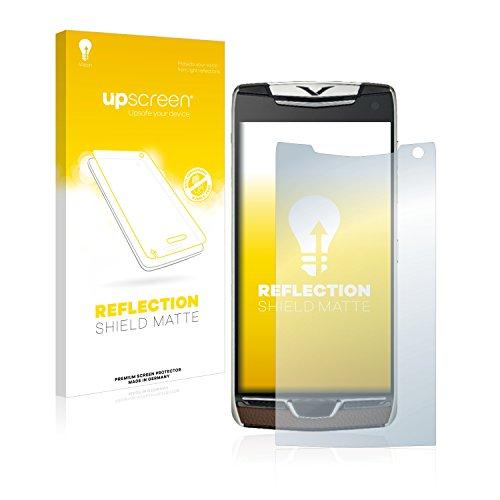 upscreen Entspiegelungs-Schutzfolie kompatibel mit Vertu Constellation (2017) – Anti-Reflex Bildschirmschutz-Folie Matt