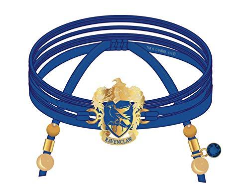 Harry Potter Ravenclaw Frauen Armband blau, Polyester, Fan-Merch, Film