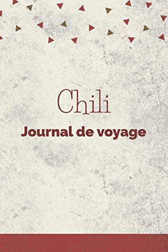Chili Journal de voyage: Grille de points   Le cadeau pour en Chili voyage   Listes de contrôle   Journal de vacances, vacances, année à l'étranger, au pair, échange d'étudiants, voyage dans le monde