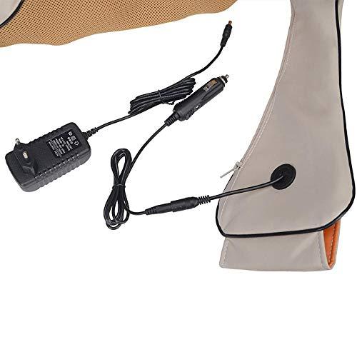 GJZ Shiatsu Cervical Rücken- und Nackenmassagegerät Schal Elektrowalze Heizgerät Handbuch China Home Car Massagemaschine