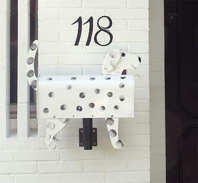 US-Mailbox-Briefkasten Model: Dalmatiener Hund für Wand- und Freimontage