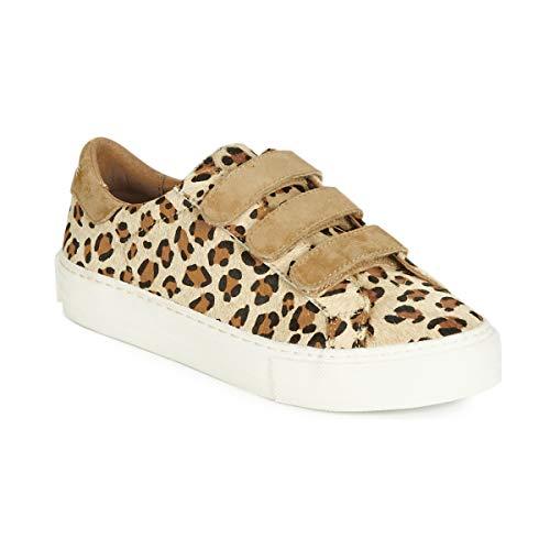 No Name Arcade Straps Sneaker Damen Beige - 40 - Sneaker Low Shoes