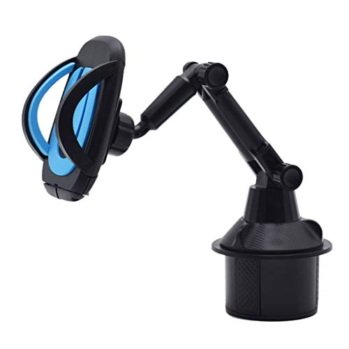 QYIYA 360 Degree Car Control Console Seat Long Tube Adjustable Angle Type Phone Holder