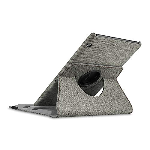 Fintie Hülle für Huawei MediaPad T5 10.1, 360 Grad verstellbare Schutzhülle Smart Case mit Standfunktion für Huawei MediaPad T5 10.1 Zoll 2018 Tablet,Denim grau