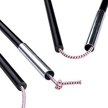 your GEAR FRP 9,5 mm | 11 mm | 12,7 mm ? Kit de réparation pour poteaux de tente en fibre de verre | tiges de rechange | embouts en caoutchouc [11 mm]