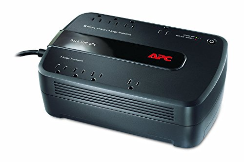 APC Back-UPS 550VA UPS Battery Backup & Surge Protector (BE550G)...