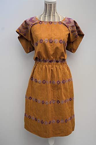 Mexican dress, loom huipil, Oaxaca dress, hippie dress, boho long dress, long dress, kaftan beach, boho, bohemian dress, long kaftan