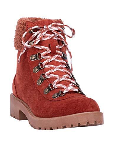 "Dingo Outdoor Boots Women Telluride Round Toe 5"" Shaft 10 M Rust DI120"