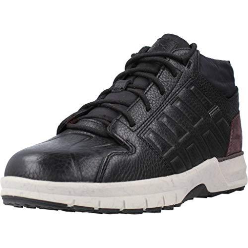 Geox U KEELBACK B ABX B, Zapatillas Altas para Hombre, Negro (Black C9999), 42 EU