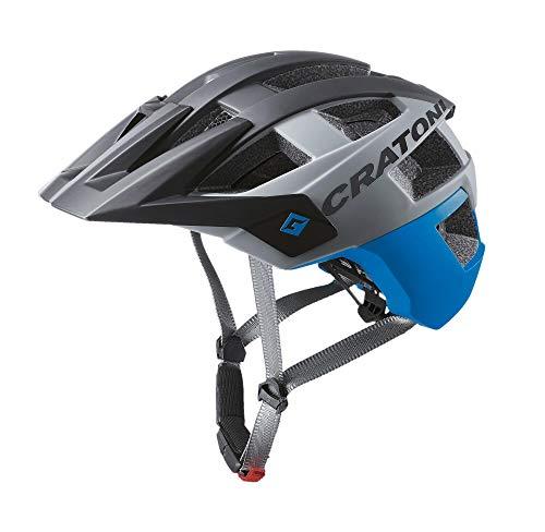 Cratoni Mountainbikehelm Allset Fahrradhelm Inlinerhelm (schwarz blau, M-L (58-61 cm))