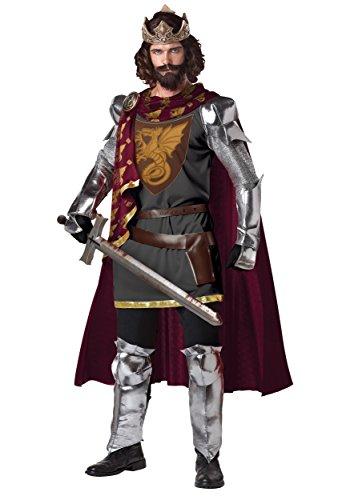 California Costumes 1234 KING ARTHUR Medieval/Renaissance Adult-Sized...