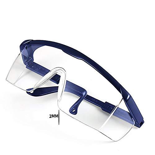 Einstellbar Schutzbrille Brillen Mit Clear Lenses Und Black Frame Für Den Außenbereich,anti Splash Wind Staubproof Schutzbrille 1 Pcs