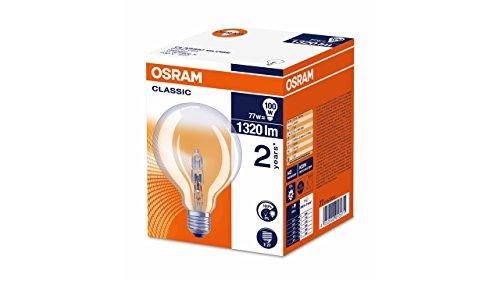 Osram Lampada Alogena E27, 77 W