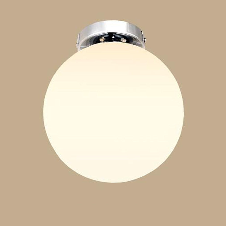AINI @ - nordique simple entrée moderne allée lampe chambre restaurant lampe boule de verre créative plafond personnalisé