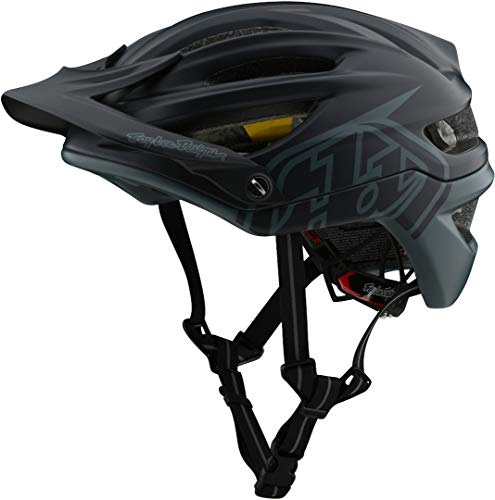 Troy Lee Designs Adult | Trail | All Mountain | Mountain Bike A2 MIPS Decoy Helmet (MD/LG, Gray/Green)
