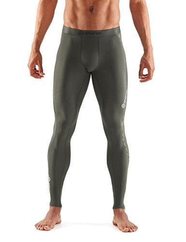Skins Herren DNAmic Utility Lange Leggings, grün, L