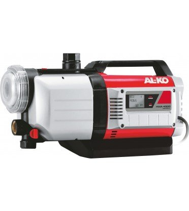 AL-KO Hauswasserautomaten HWA 4000 Comfort, 1000 W Motorleistung, 4000 l/h max. Fördermenge, 45 m max. Förderhöhe, inkl. Vorfilter