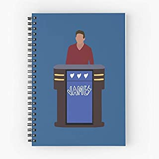 Game Trebek Holzhauer Jeopardy Vegas Alex Gambling Los Show James Quiz Cute School Five Star Spiral Notebook With Durable Print