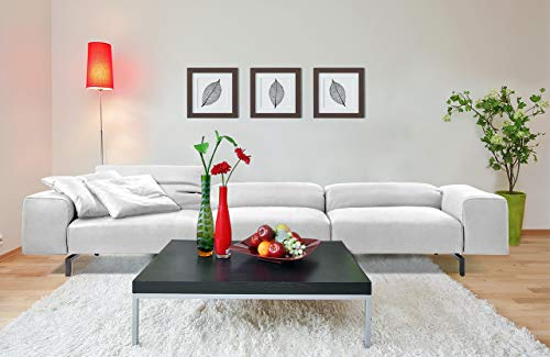 PUG - Ultra Premium, Italian Designer Sofa Set Luxury Modern Furniture for Living Room - 3 Seater, Wide, Extra Cushion and Deep Comfortable Sitting or Laying Down ( Color - White)