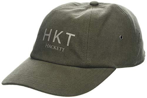 HKT by Hackett Hkt Canvas Cap Casquette De Baseball, Vert (K