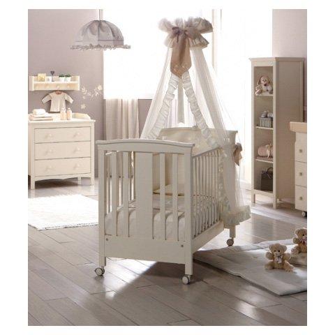 Babybett Kinderbett aus Holz Rose Pali Noce KEINE MATRATZE