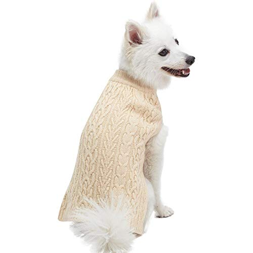 5. Blueberry Pet Classic Knit Dog Sweater