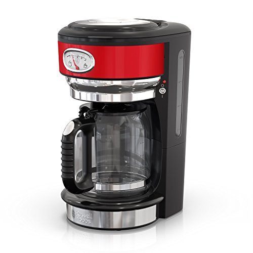 Cafetera Retro Style Russell Hobbs, Rojo