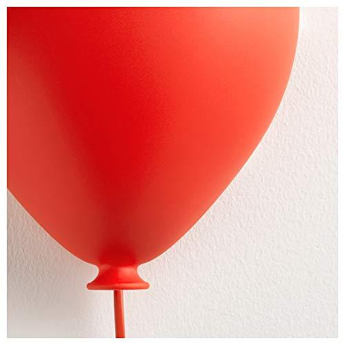 IKEA drömminge lámpara de pared, Dormitorio de Niños Globo Rojo