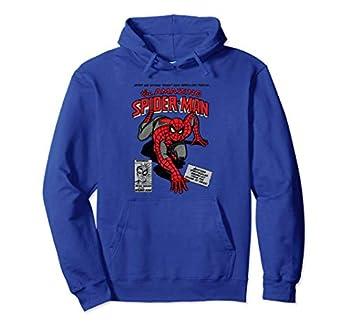 Marvel Spider-Man Retro Comic Hooded Sweatshirt