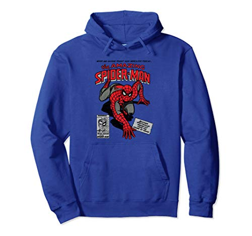 Marvel Spider-Man Retro Comic Hooded Sweatshirt