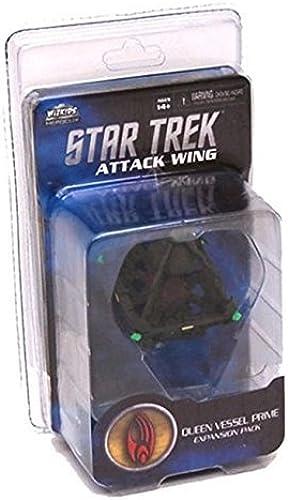 orden ahora disfrutar de gran descuento Star Trek Attack Wing  Borg Queen Vessel Prime Prime Prime by WizKids  autorización oficial