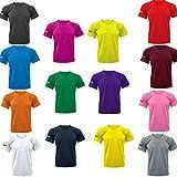 Zeus T-Shirt Basic Camiseta Manga Corta Para Hobre Relax Hombre Complemento Pegashop Color Amarillo Fluo (L)