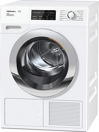Miele TCJ 690 WP SteamFinish Asciugatrice Libera Installazione a Pompa di Calore, 1.63 W, 9 kg, 64 Decibel, Chrome