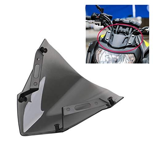 Parabrisas de motocicleta Parabrisas En Forma De Parabrisas Fit For Yamaha MT-07 FZ-07 2018 2018 2019 2020 Accesorios De Motocicleta Pare-Brise Deflectores De Viento Parabrisas Universal Parabrisas de