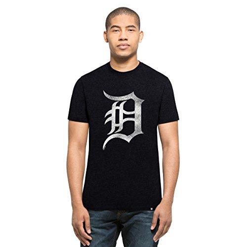 '47 Brand MLB Detroit Tigers Knockaround Club Camiseta, Azul Marino, M Hombre