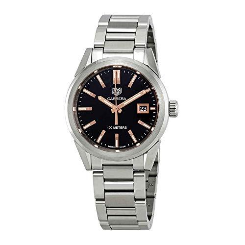 TAG Heuer Carrera WBG1311.BA0758 - Reloj para Mujer (Esfera Negra, 36