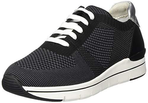 MARCO TOZZI 2-2-23785-24, Zapatillas Mujer, Negro Black Comb 098, 41 EU