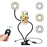 Kekh Selfie Ring Light with Stand...