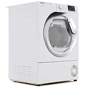 Hoover HLC9DCE Link 9kg Freestanding Condenser Sensor Tumble Dryer With One Touch – White