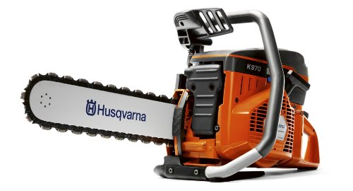 Husqvarna 966037802 K970 Concrete Chain Saw with Bar