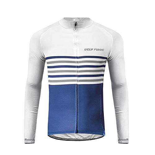 Uglyfrog H10ZRMens Cycling Top Autumn Winter Cycling Clothing Warm Jacket & Jersey Outdoor Sportwear