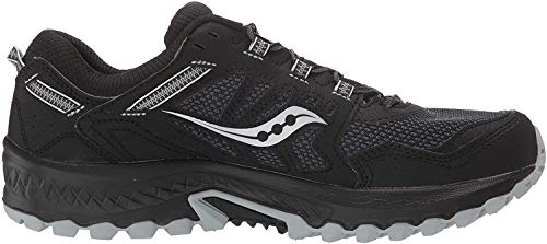 Saucony Women's Versafoam Excursion TR13 Road Running Shoe, Black, 10.5
