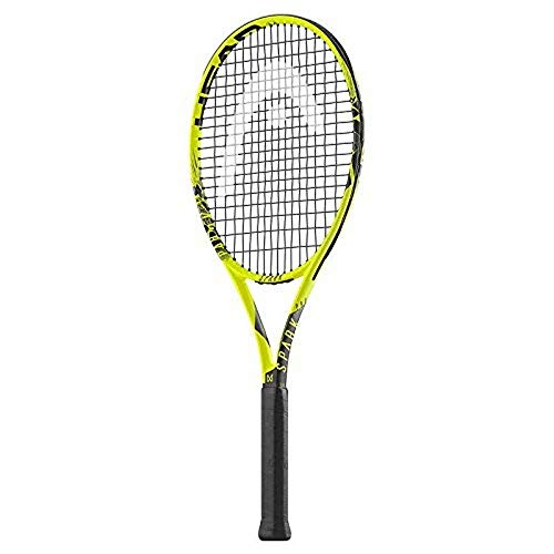 HEAD Spark Pro Raqueta de Tenis, Adultos Unisex, Amarillo, 1