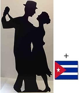 Salsa Dancer (Silhouette) - Silhouette Lifesize Cardboard Cutout / Standee / Standup - Includes 8x10 (20x25cm) Star Photo