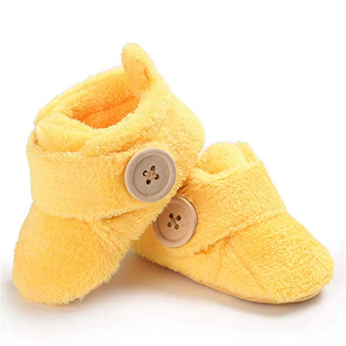 Yellow Infant Boots